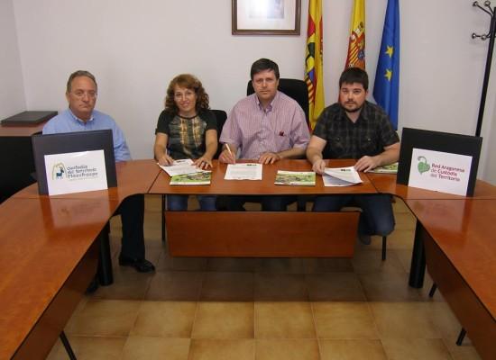 La siembra forestal de Ejulve ya tiene acuerdo de custodia del territorio
