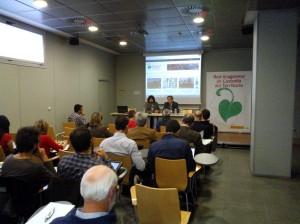 Inauguración de las jornadas a cargo de Pablo Munilla, Director General de Conservación del Medio Natural del Gobierno de Aragón, y Jorge Abril, coordinador de la Asociación para el Desarrollo del Maestrazgo; también ha intervenido en la inauguración con un saluda virtual Sonia Castañeda, Presidenta de la Fundación Biodiversidad