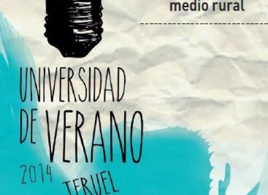 Curso Universidad de Verano de Teruel sobre innovación en el medio rural (Molinos, 1-3 julio)