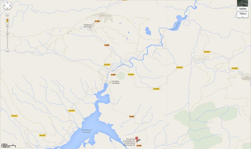 mapa localizacion eana maestrazgo