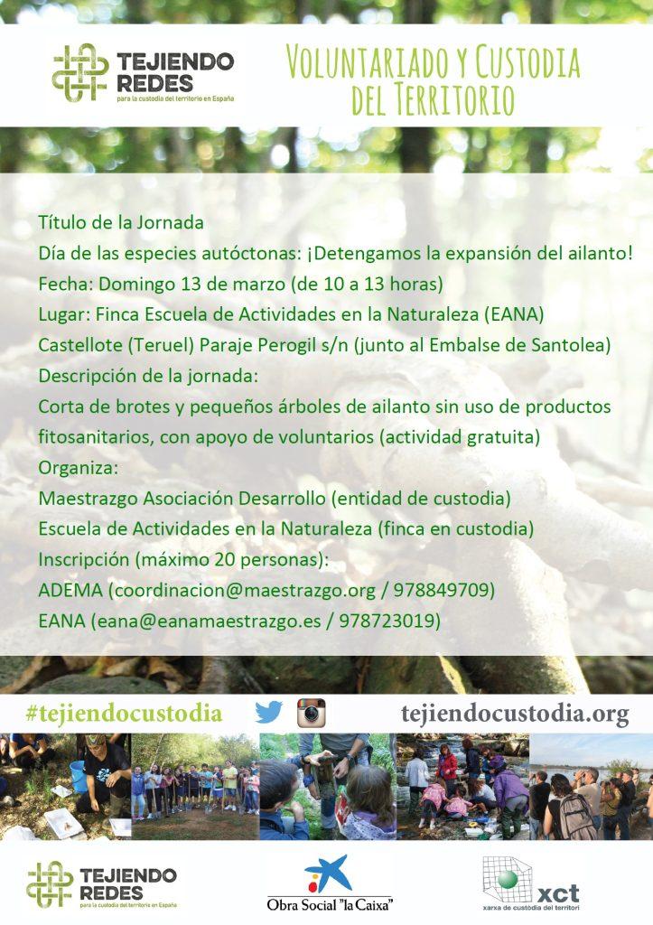 cartel eana 13 de marzo